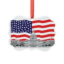 US Capitol Building Ornament