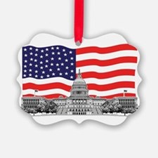 US Capitol Building Ornament