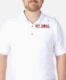 My Goal Is To Deny Yours (Hockey) T-Shirt