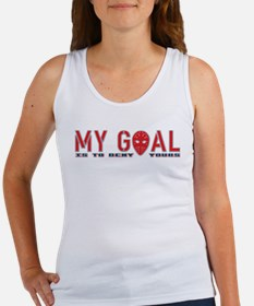 My Goal Is To Deny Yours (Hockey) Women's Tank Top