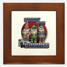 Hangin with my Gnomies Framed Tile