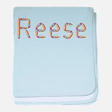 Reese Pencils baby blanket