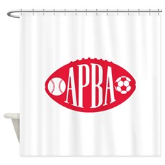 APBA logo Shower Curtain