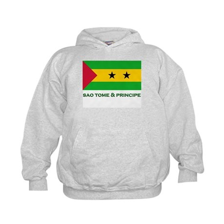 Flag of Sao Tome & Principe Kids Hoodie