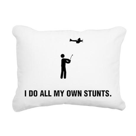 RC Aeroplane Rectangular Canvas Pillow