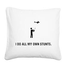 RC Aeroplane Square Canvas Pillow