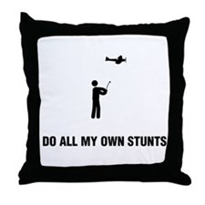 RC Aeroplane Throw Pillow