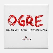 Ogre Genes Tile Coaster