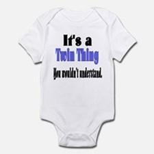 It's A Twin Thing Infant Bodysuit