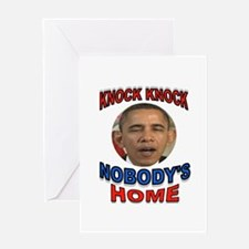 OBAMA LAND Greeting Card