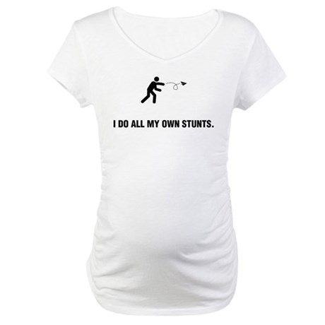 Paper Airplane Flying Maternity T-Shirt