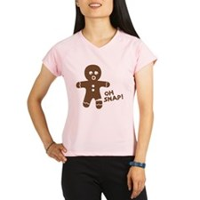 Oh Snap Gingerbread Performance Dry T-Shirt