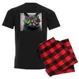 Space cats Men's Dark Pajamas