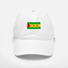 Sao Tome & Principe Flag Picture Baseball Baseball Cap