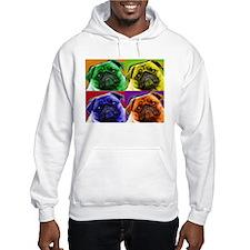 Funny Warhol dog Hoodie