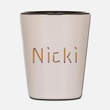 Nicki Pencils Shot Glass