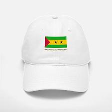 Sao Tome & Principe Flag Stuff Baseball Baseball Cap