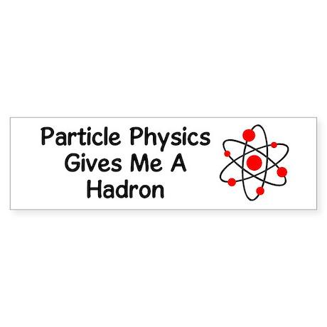 Particle Physics Bumper Sticker