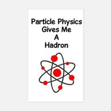 Particle Physics Rectangle Decal