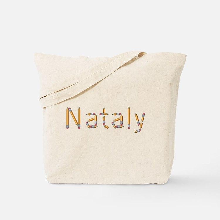 Nataly Pencils Tote Bag