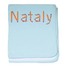 Nataly Pencils baby blanket