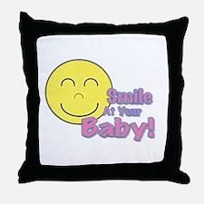 Logo Square Throw Pillow