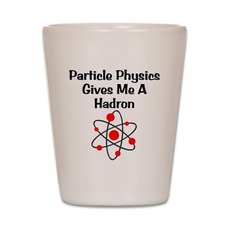 Particle Physics Shot Glass