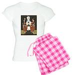 Vintage Queen of Hearts Women's Light Pajamas