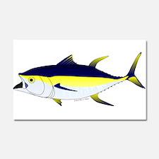 Yellowfin Tuna (Allison Tuna) fish Car Magnet 20 x