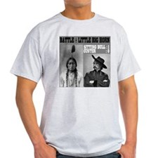 Sitting Bull - Custer Ash Grey T-Shirt