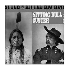 Sitting Bull - Custer Tile Coaster
