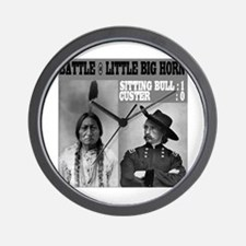 Sitting Bull - Custer Wall Clock