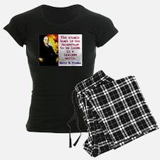 The Atomic Bomb - Harry Truman Pajamas