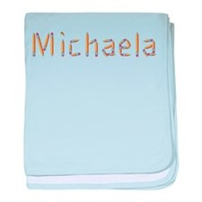Michaela Pencils baby blanket
