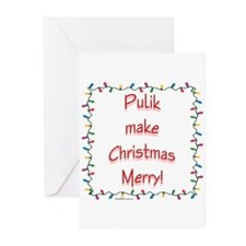 Merry Puli Greeting Cards (Pk of 10)
