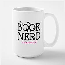 Book Nerd Large Mug