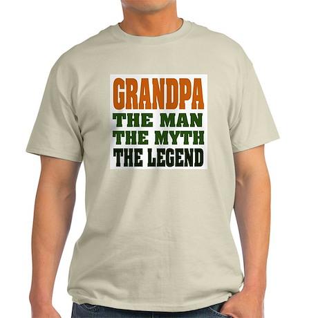 Grandpa - The Legend Ash Grey T-Shirt