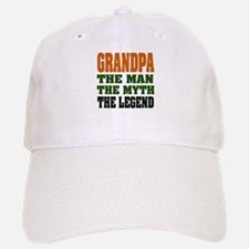 Grandpa - The Legend Baseball Baseball Cap