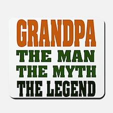Grandpa - The Legend Mousepad