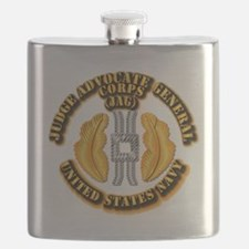 Navy - JAG Corps Flask