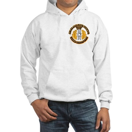 Navy - JAG Corps Hooded Sweatshirt