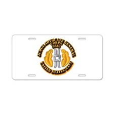 Navy - JAG Corps Aluminum License Plate