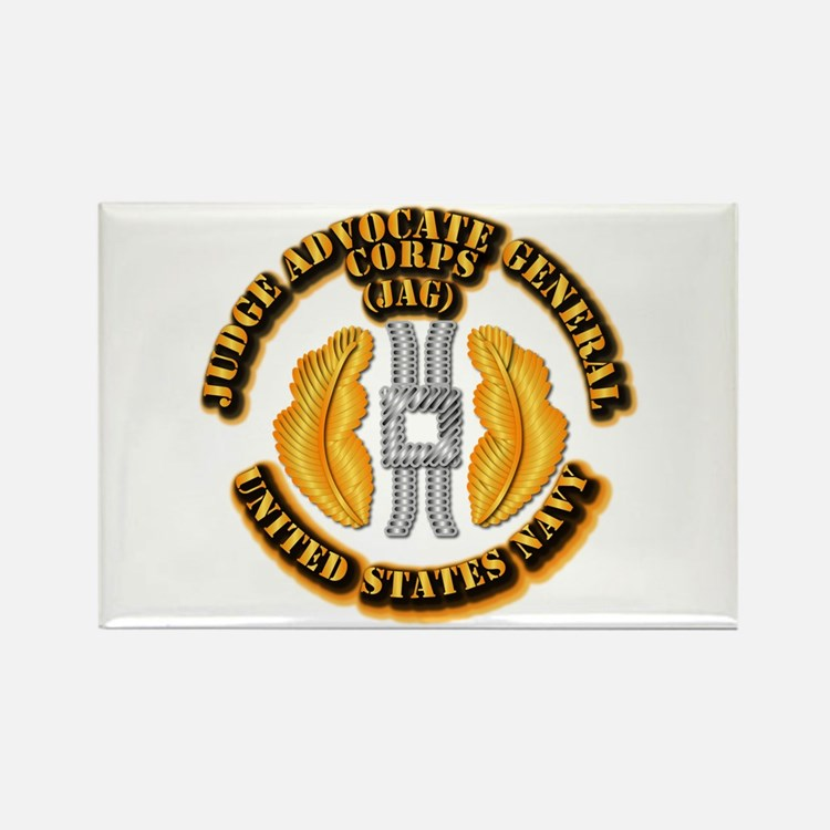 Navy - JAG Corps Rectangle Magnet (10 pack)