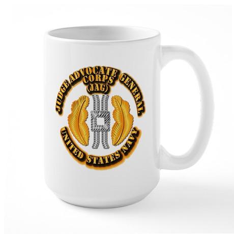 Navy - JAG Corps Large Mug
