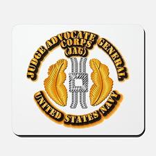 Navy - JAG Corps Mousepad