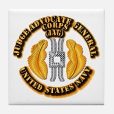 Navy - JAG Corps Tile Coaster