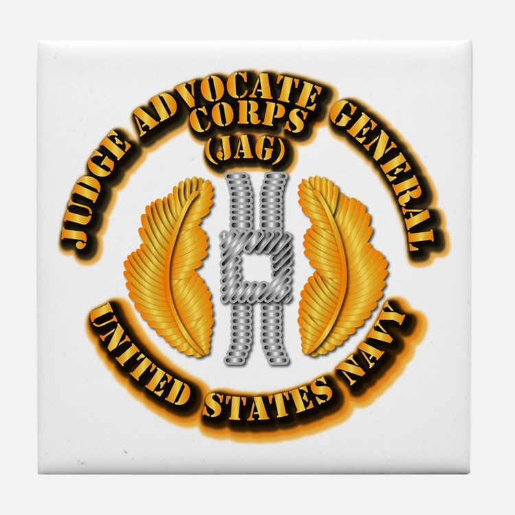 Navy - JAG Corps Tile Coaster