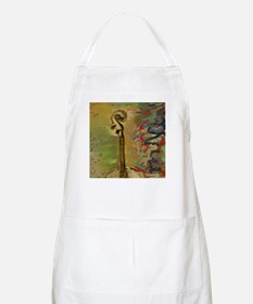 Abstract Cello Scroll BBQ Apron