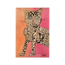 Marcia Marcia Marcia Inspiration Cat Rectangle Mag