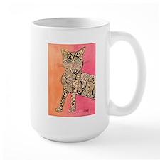 Marcia Marcia Marcia Inspiration Cat Mug